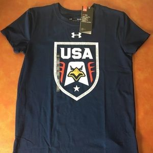 Under Armour Womens Stars And Stripes Shirt